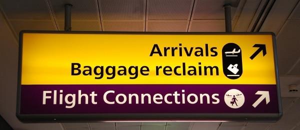 Flughafen Zeichen