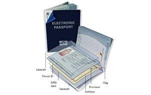 Wie setzt sich ein elektronischer Reisepass zusammen?