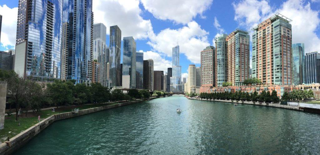 Chicago Zentrum mit Ihrem ESTA USA