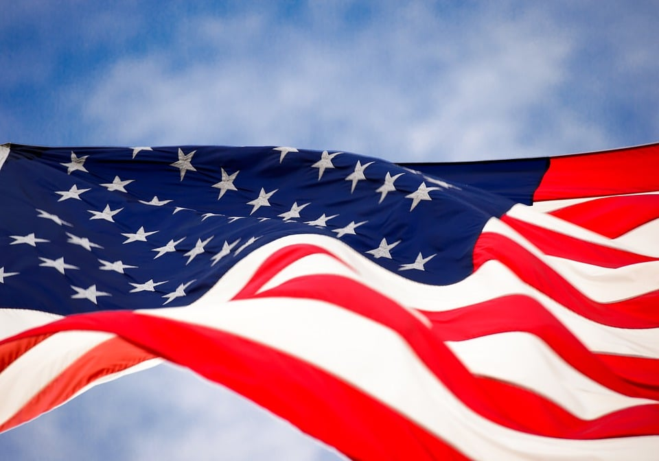 ESTA US Flagge