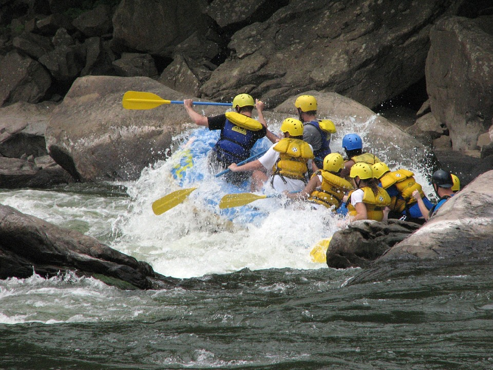 Rafting in den USA