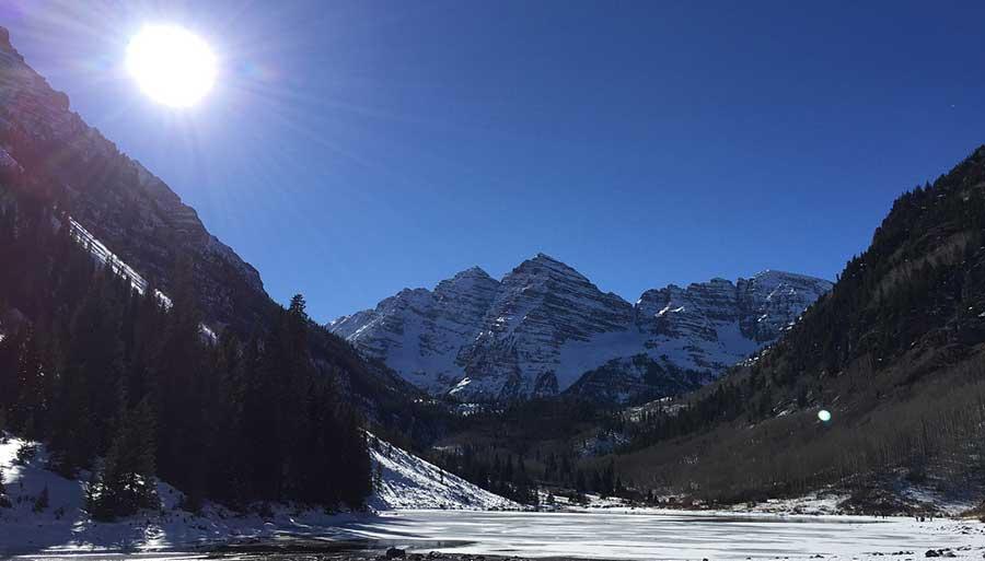 Wintersport mit ihrem ESTA Antrag USA