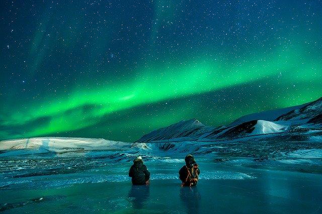 Aurora Borealis with ESTA