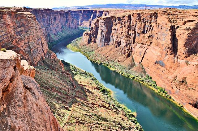 Colorado river with ESTA USA