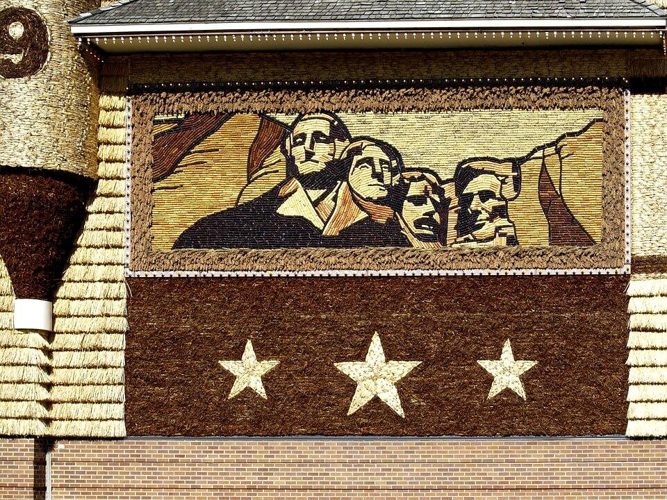 mit flüge USA und ESTA zum Mount Rushmore art