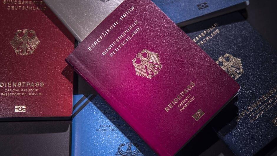 Der Deutsche Reisepass