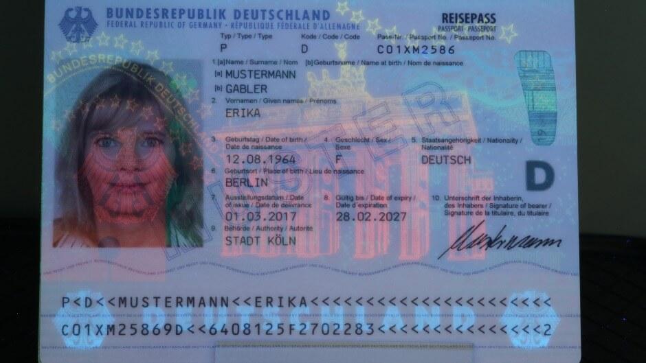 Unsere Reisepass Reisepass 0 oder o was ist es denn nun?