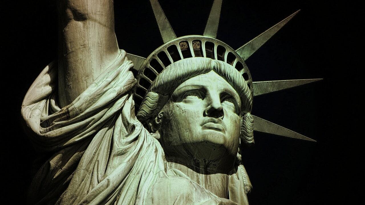 Freiheitsstatue Gesicht