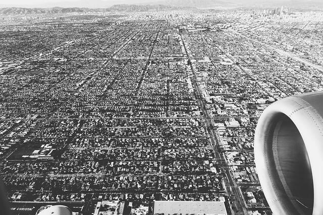 Luftausnahme von Los Angeles