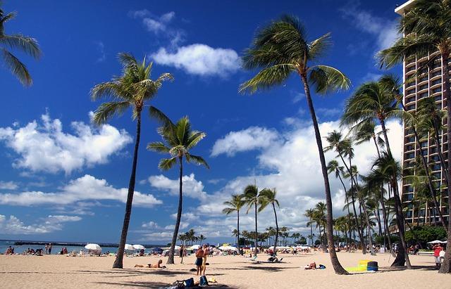 esta usa Waikiki Beach Hawaii