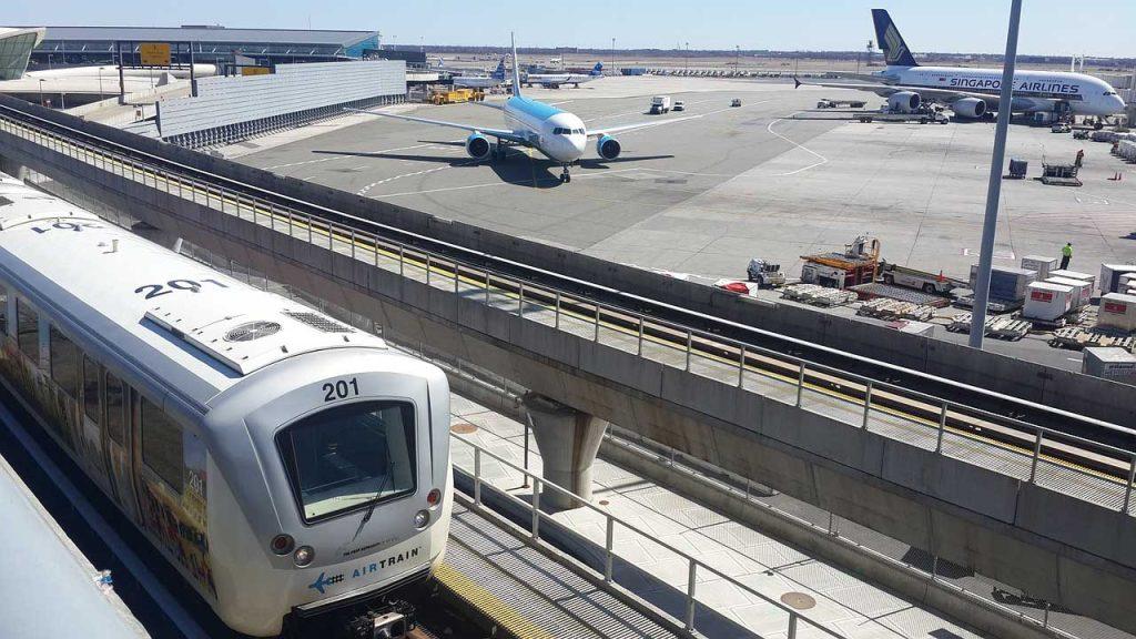 ESTA stellt vor JFK Airport