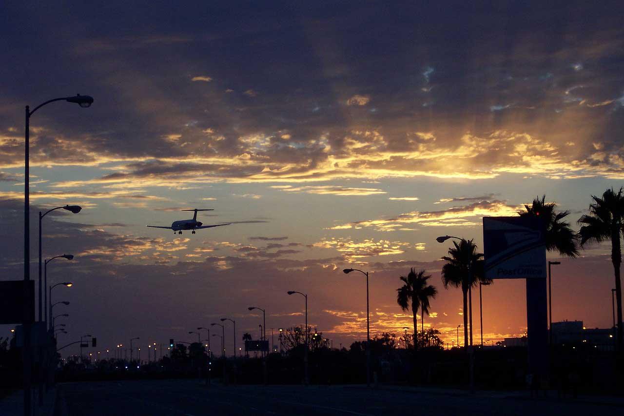 Los Angeles airport ESTA USA
