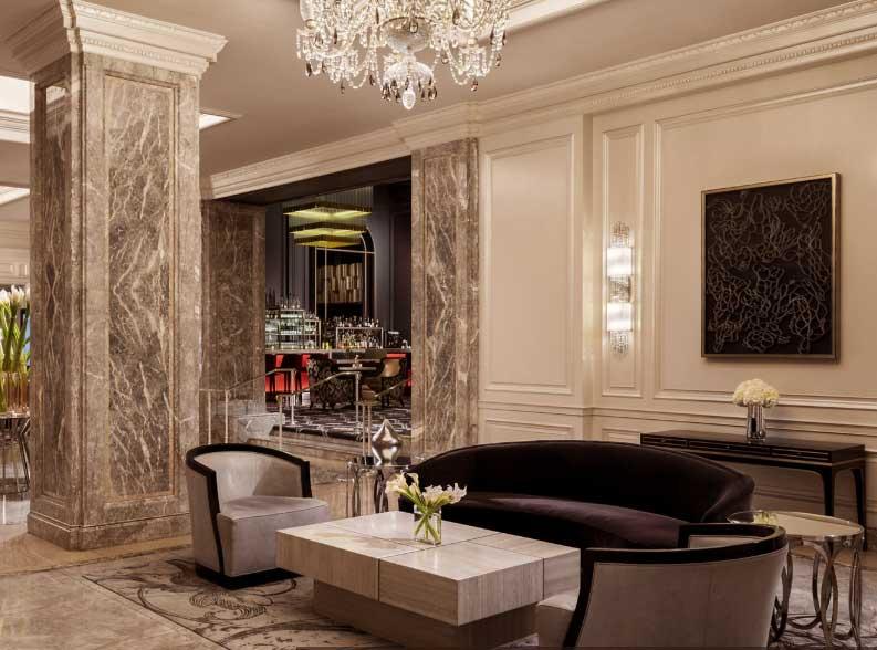 ESTA Antrag Ritz Carlton Hotel