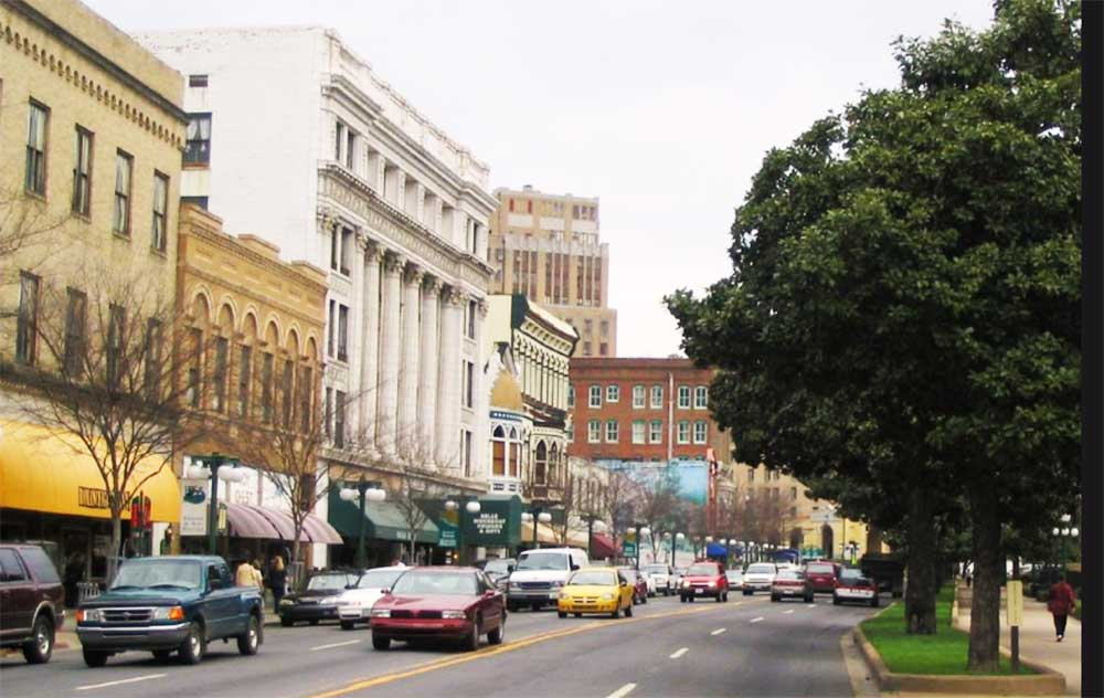 Hot Springs Arkansas Stadt