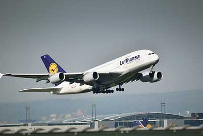 Lufthansa Flug nach Boston
