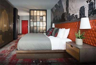 NNashville Bobby Hotel Room