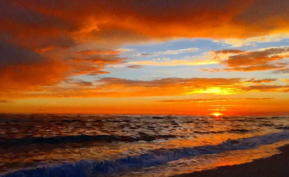 San Diefo Sunset