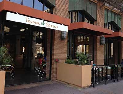 San Diego Tender Greens Restaurant