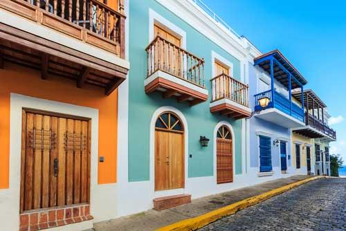 San Juan Strasse