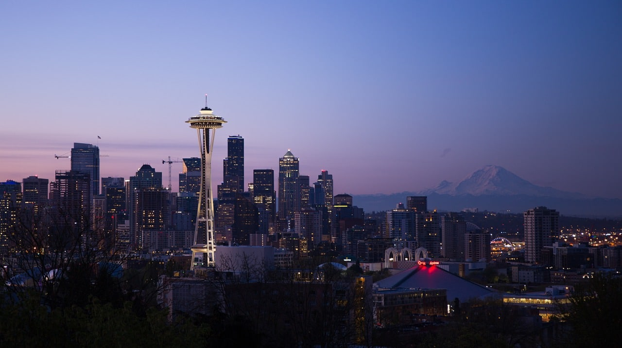 Seattle im twighlight