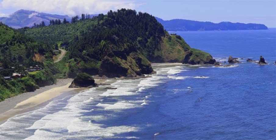 Tillamook Oregon coastline