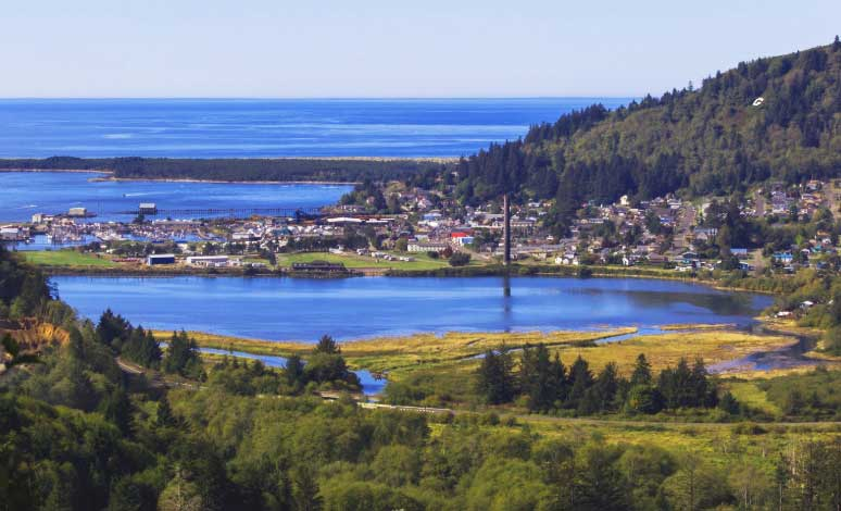 Tillamook Oregon Stadt