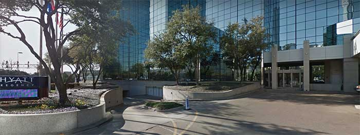 Das Hyatt Regency Dallas