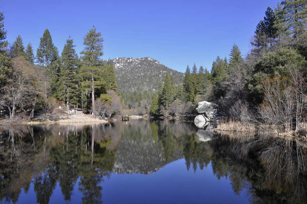 Lake Fulmor on Mt. San Jacinto