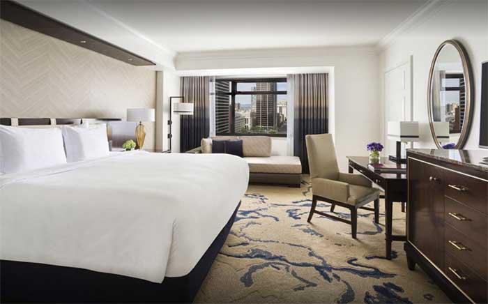Ein normales Zimmer im Ritz Carlton Denver