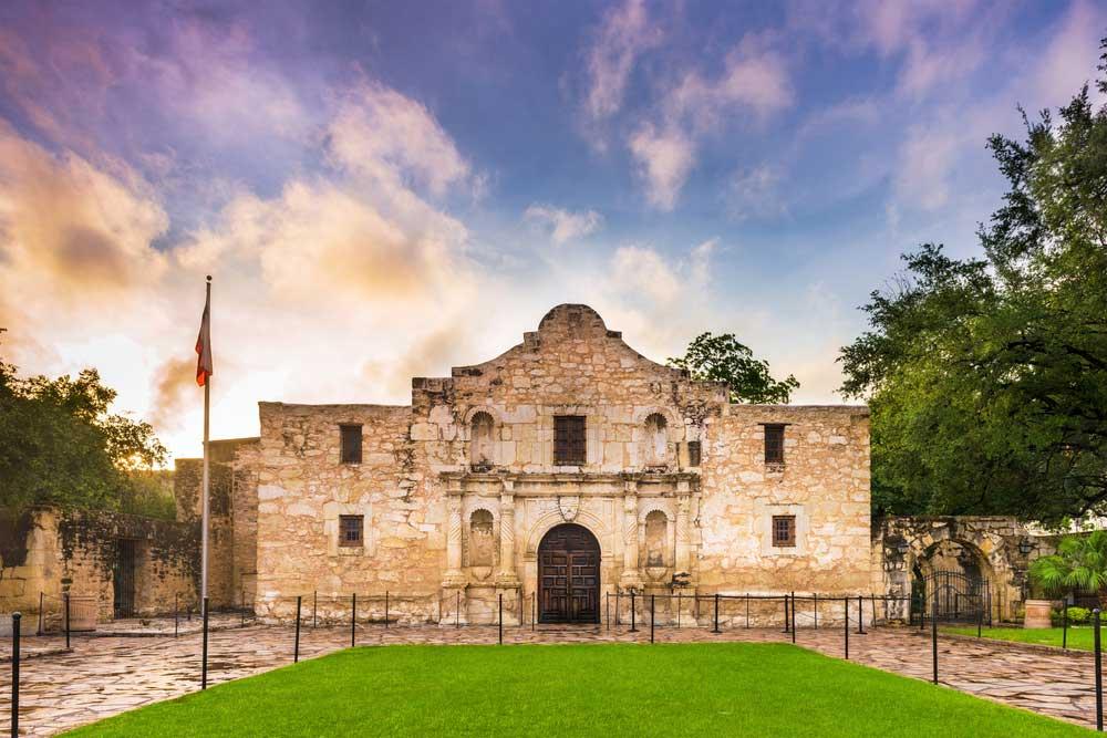 The famous Alamo