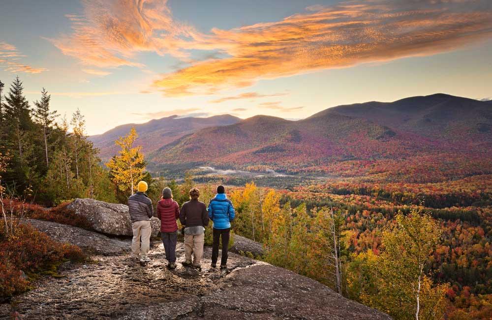 Ausblick auf die Adirondack Mountains