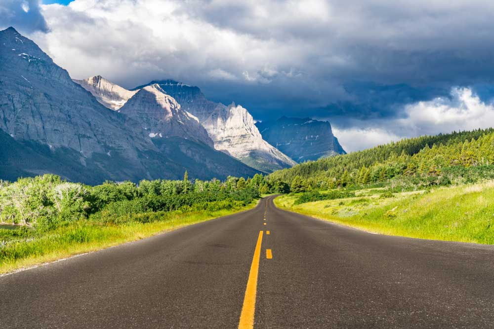 ESTA Guide Sun Road in Glacier National Park
