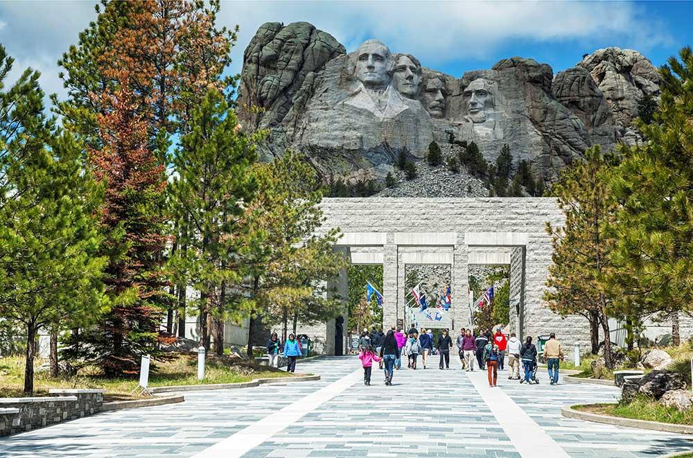 EIngang zum Mount Rushmore